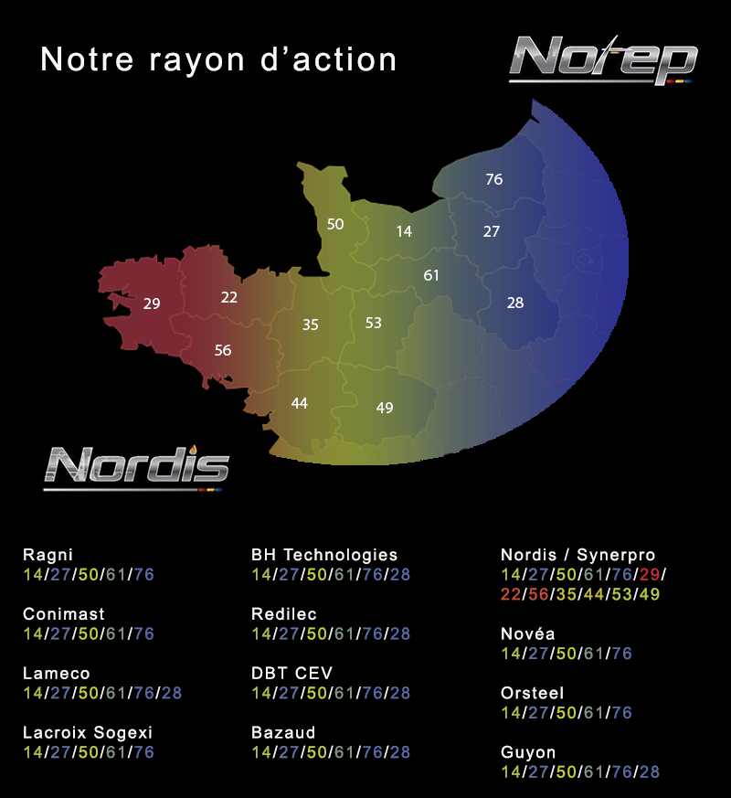 notre rayon d'action